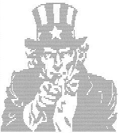 ascii art uncle sam