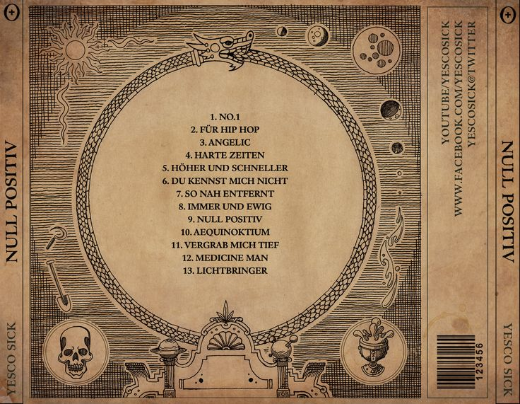 Null Positiv Albumcover Benjamin Apatschnig 2013