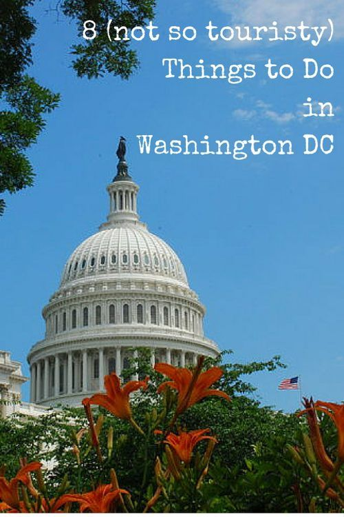 8 (Not so Touristy) Things To Do in Washington DC