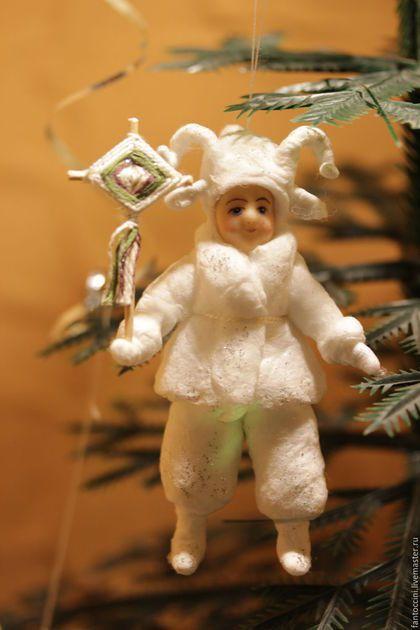 Коллекционные куклы ручной работы. Игрушки из ваты. Ольга Гоголева…