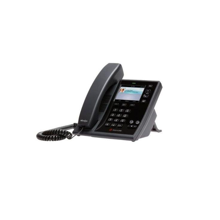Polycom CX500 IP Phone For Microsoft Lync PoE (Power Supply Optional) 220044300025 2200-44300-025