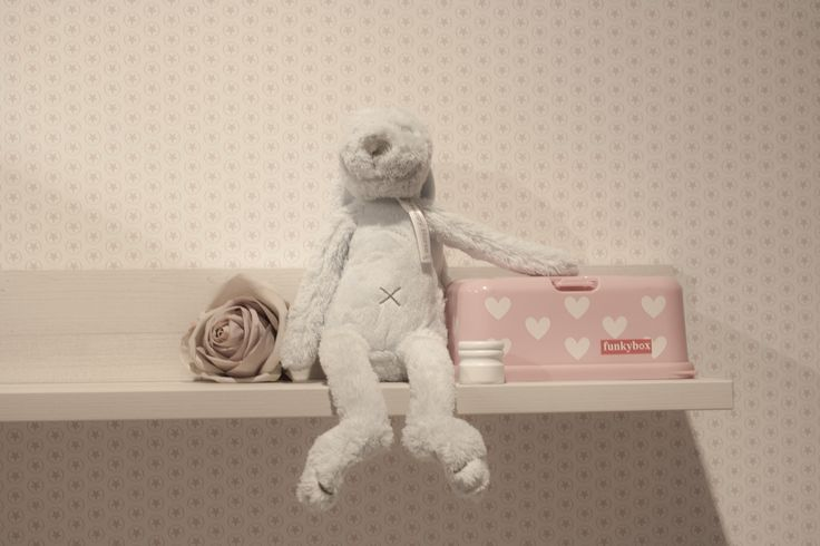 ... . Kinderkamer studio ditte behang roze sterren / childrens room