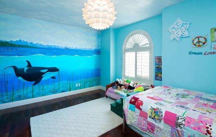 underwater themed bedroom for pinterest