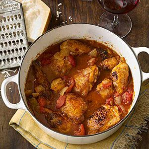 MyRecipes recommends that you make this Chicken Cacciatore recipe from All You