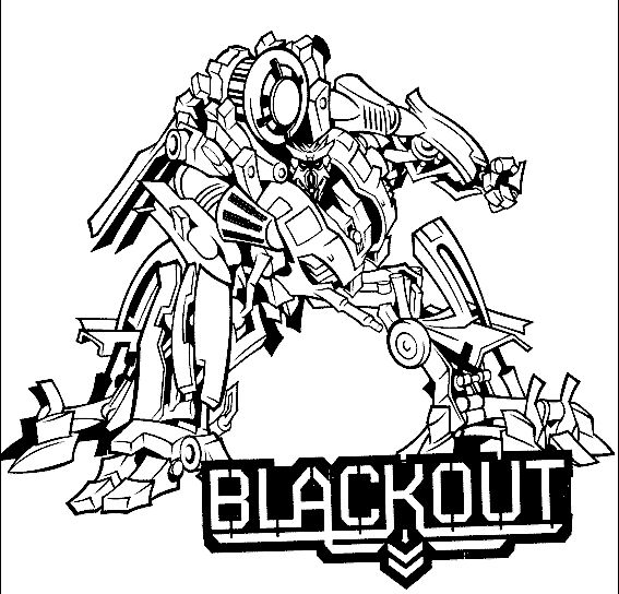 Transformers Coloring Page 12
