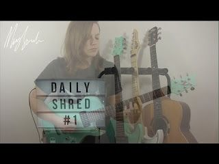 Mary Spender: Belief by John Mayer - Daily Shred # 1   I've set myself the challenge to release a little video of me playing guitar for the 25 days of Christmas. Think of it as your musical advent calendar. Want to replicate my tone? Read here:http://ift.tt/2h0uxil... GET TICKETS TO MY NEXT HEADLINE SHOW BRISTOL UK:http://ift.tt/2h0AbB5... LINKShttp://ift.tt/2df4jnihttp://ift.tt/2df5wv7http://ift.tt/2cOB6l7https://www.twitter.com/MarySpenderhttp://ift.tt/2df4Aqg MY GEAR: Electric Guitars…