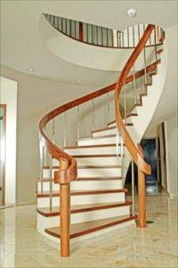 11 Astonishing Round Stairs Design Foto