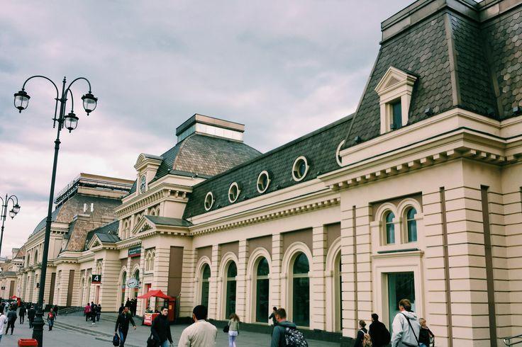 Moscow . Paveletskaya .