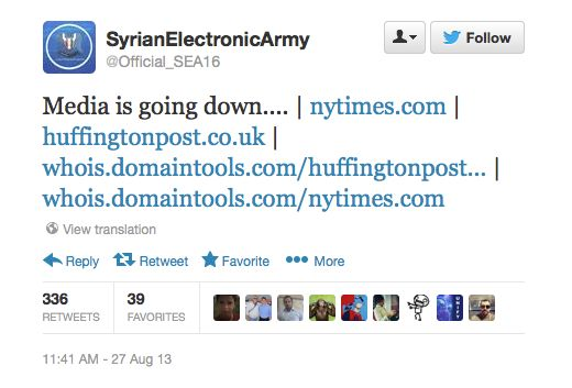 HACKLASH! Syrian Electronic Army's website hacked by angry rivals