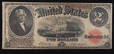 New! 1917 $2 United States Note Fr. 58 Large Size Legal Tender https://www.paper-money-collector.com/product/1917-2-united-states-note-fr-58-large-size-legal-tender/ #Currency #UnitedStates
