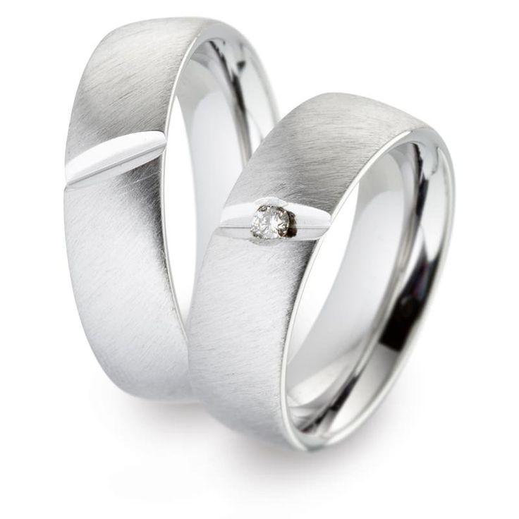 TF 8 | Moderne titanium trouwringen | ItaloDesign Trouwringen