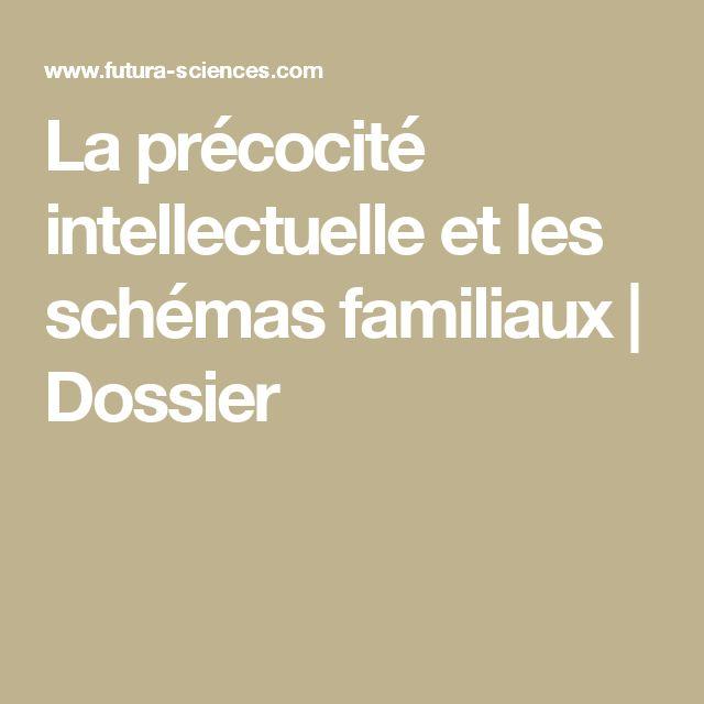 La précocité intellectuelle et les schémas familiaux   Dossier