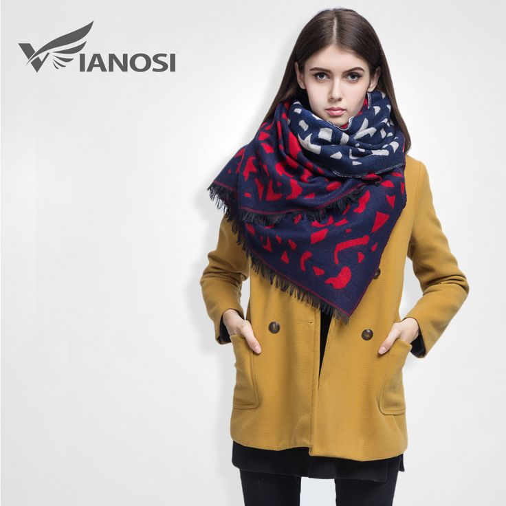 [VIANOSI] Famous Brand Winter Scarf Women Diamond Printed Cashmere Female Thicken Warm Soft Shawls Mujer DS012-in Scarves from Women's Clothing & Accessories on Aliexpress.com   Alibaba Group