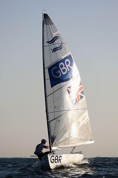 Giles Scott for Team GB at Rio 2016