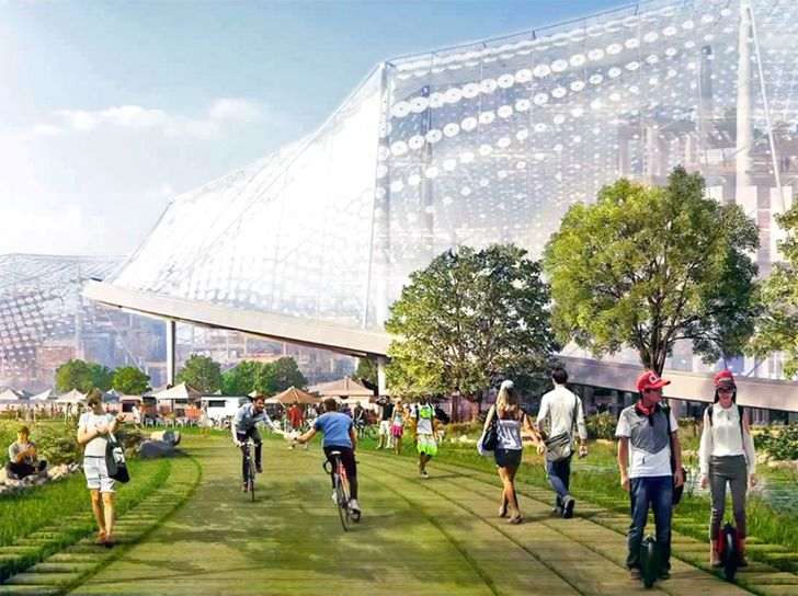 VIDEO: Google is building a giant bubble in Mountain View!