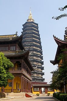 Tianning Temple (Changzhou) - New Classical architecture
