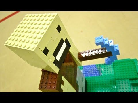 ▶ LEGO MINECRAFT - Notch - YouTube