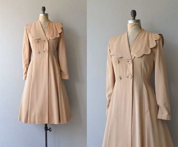 Lille Prinzessin Mantel Jahrgang 1940er Jahre von DearGolden