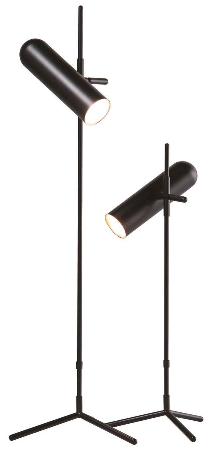 @rochebobois  led adjustable aluminium table lamp design Cédric Dequidt, Accessoires collection