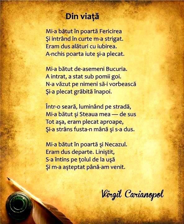 virgil carianopol din viata - Cerca con Google