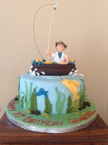 Best 25 fisherman cake ideas on pinterest fishing cakes for Fishing cake decorations