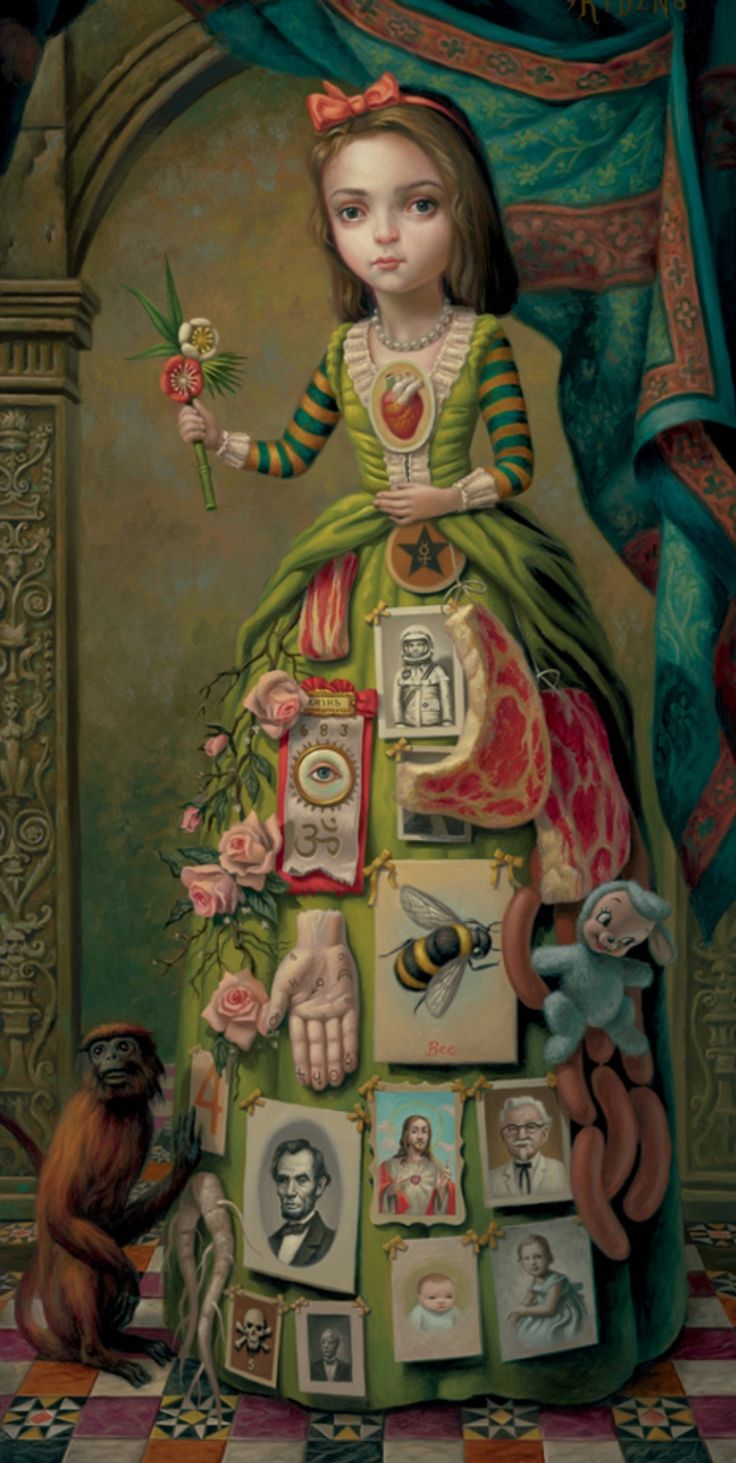 Mark Ryden - The Meat Show - The Debutante (1998)