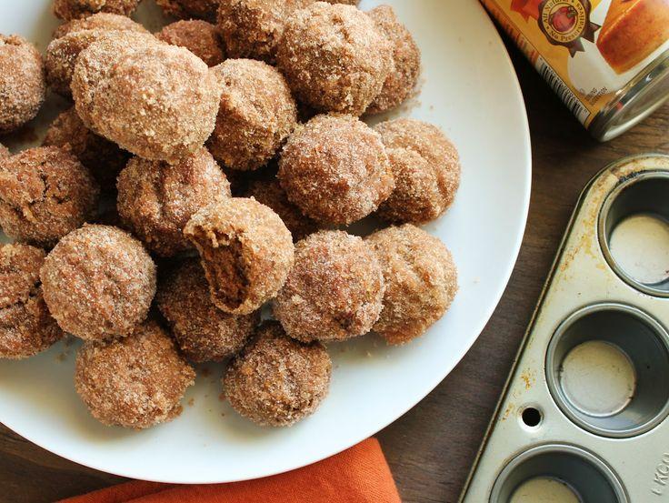 Recipe For Almond Flour Pumpkin Donut Muffins Donut
