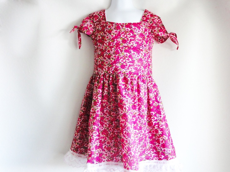 A collection of pictures of handmade dresses from erynskidsworld
