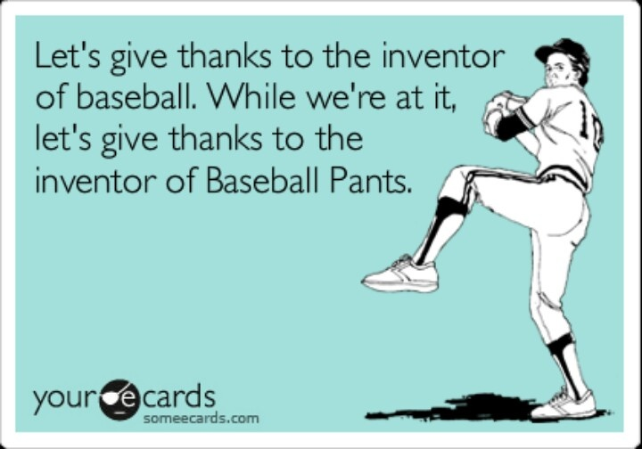 Love me some baseball players!