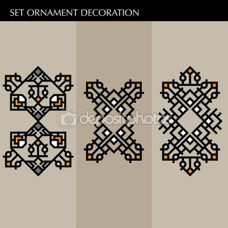 Luxury decoration template japanese, calligraphic, aztec elegant ornament lines. Business sign, identity for Restaurant, Royalty, Boutique, Hotel, Heraldic, Jewelry, Fashion and other vector illustration — Stock Vector © kupritz #122763686