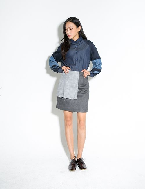 COTTON DETAILED SKIRT http://arcloset.com/product_view.php?gs_idx=BO130087SK