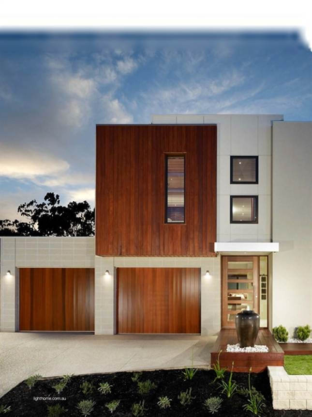 """Metricon's design director Adrian Popple says """"We use good designs that are sympathetic to existing streetscapes, while creating contemporary, classic facades."""" http://www.metricon.com.au/knock-down-rebuild. Light Home Magazine : Light Home Winter 2012, Page 74"""