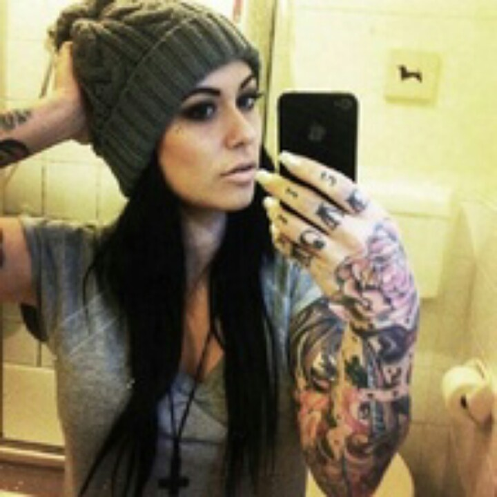 Iphone ink tattoos women hat badass ink pinterest for Girls with badass tattoos