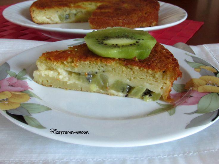 torta al kiwi senza latte burro e olio