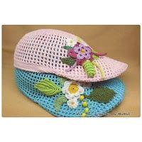 Tina's handicraft : summer crochet hats