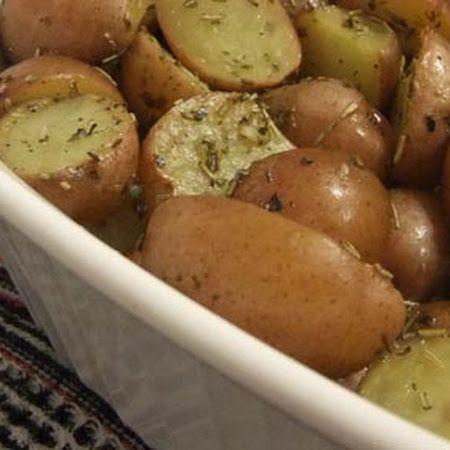 Greek Lemon Thyme Potatoes Recipes — Dishmaps