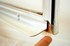 Geeks On Home: How to Replace a Shower Door Bottom Seal