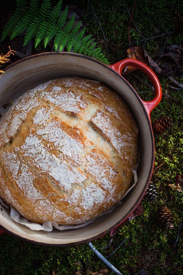 Homemade bread   pain maison sans petrissage