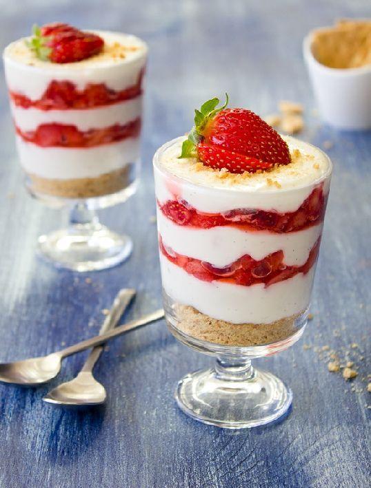 Vegetarian-  Low FODMAP Recipe and Gluten Free Recipe - Strawberry cheesecake crunchies   http://www.ibscuro.com/low_fodmap_vegetarian_strawberry_cheesecake_crunchies.html