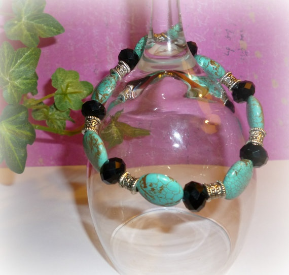 Meet me in the Caribbean Bracelet by PinkRocksBoutique on Etsy, $8.00
