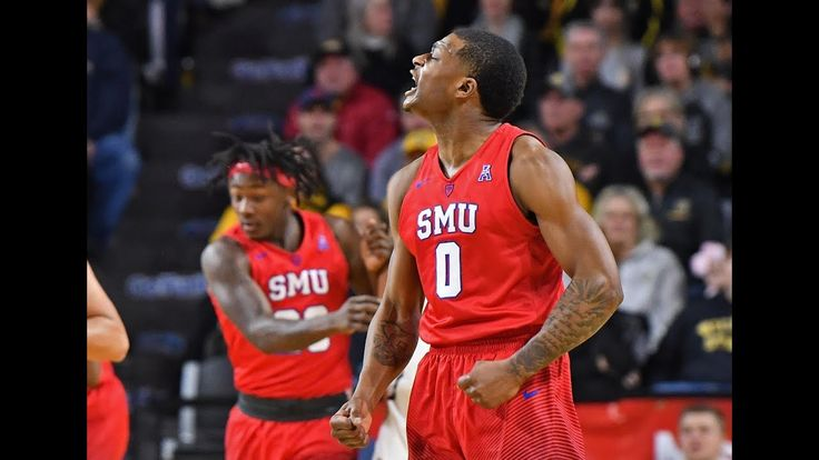 Men's Basketball Highlights - SMU 83, #7 Wichita State 78 - YouTube