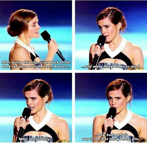 Why is this me  Emma Watson is so relatable