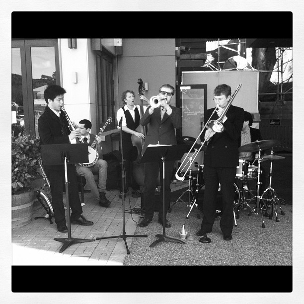 "@masseyuni's photo: ""Jazz on a Friday #openday"""