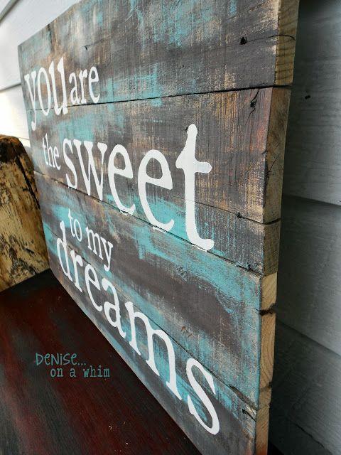 Sweet Pallet Sign