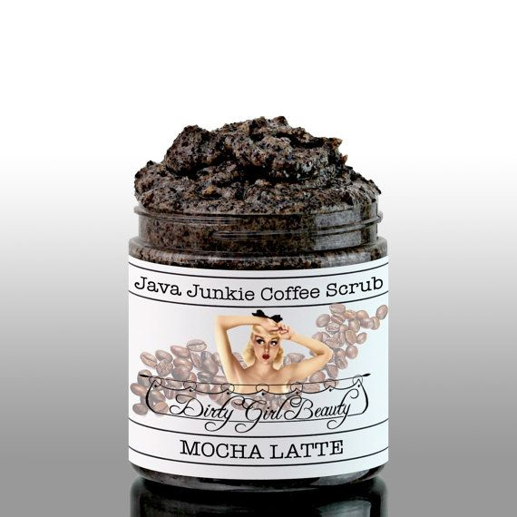 Java Junkie Coffee Scrub 4 fl. oz. in MOCHA by DirtyGirlBeauty