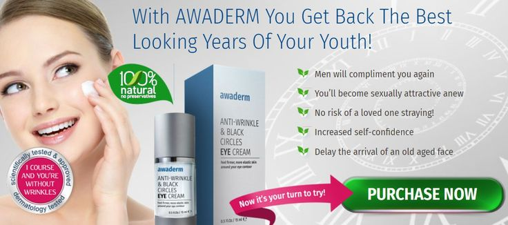 Awaderm Eye Cream is a top rated #antiaging product for aging skin plays a role as a #wrinkle reducer. An effective weapon to get rid of dark circles under eyes. Know more here http://skincarebeautyshop.com/awaderm-review/ #eyecreamsforpuffiness