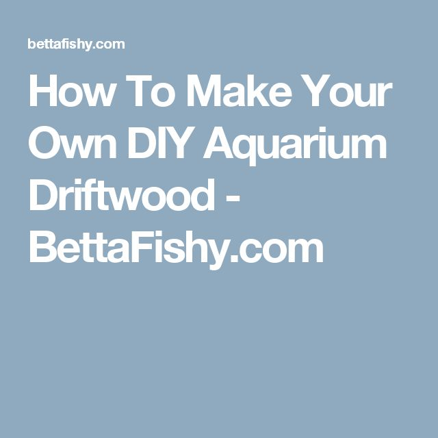 The 25 Best Ideas About Aquarium Driftwood On Pinterest