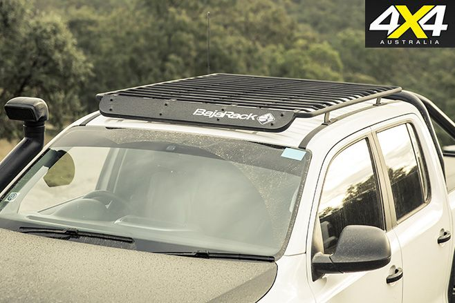 Dark vw amarok roofrack