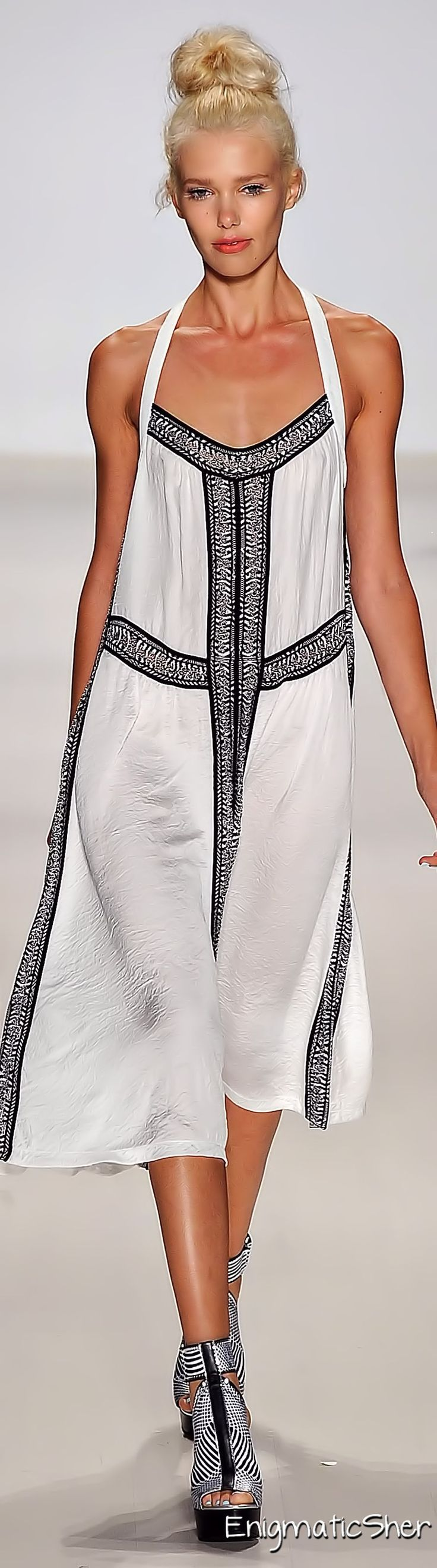 Nanette Lepore Spring Summer 2015 Ready-To-Wear