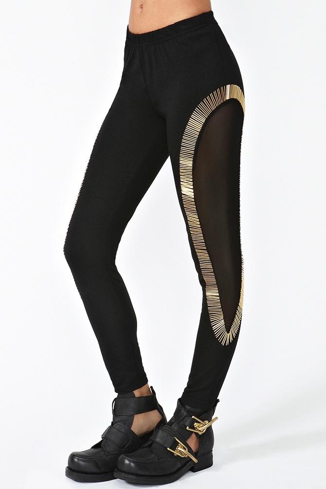 Gold Bar Leggings. What the?: 2Dayslook Leggings, Diy Fashion, Kmggold Fashion, Bar Leggings Hate, Leggings Leggings, Leggings Anoukblokker, Leggings 2Dayslook, Gold Bars
